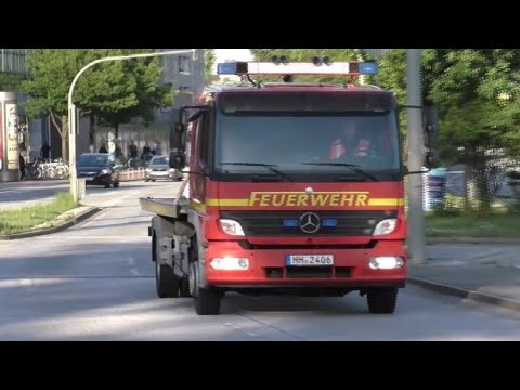 [Liegenbleiber im Elbtunnel] VRW + SLF-T ETFN & ASF + SLF-T ETFS BF Hamburg