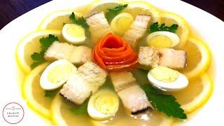 Заливна риба - неймовірно смачна!//Заливная рыба - невероятно вкусная!