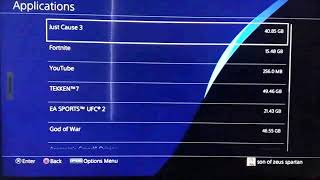 ps4 online and game storage