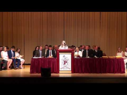 Pikeville High School 2016 8th Grade Graduation Ceremony