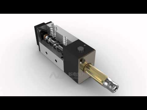 Pneumatic solenoid valve dynamic demo video