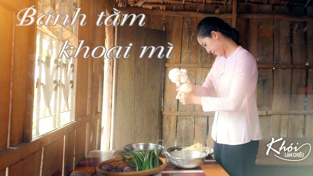 Bánh tằm khoai mì nức tiếng miền Tây - Khói Lam Chiều #34 | Silkworm Cassava Cakes - Special Recipe