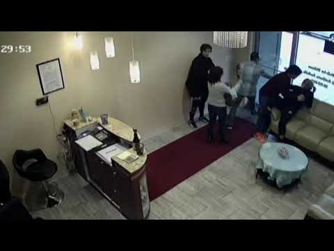 Fight at nail salon