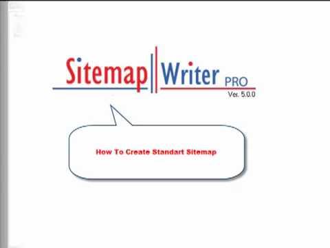 Sitemap Writer Pro