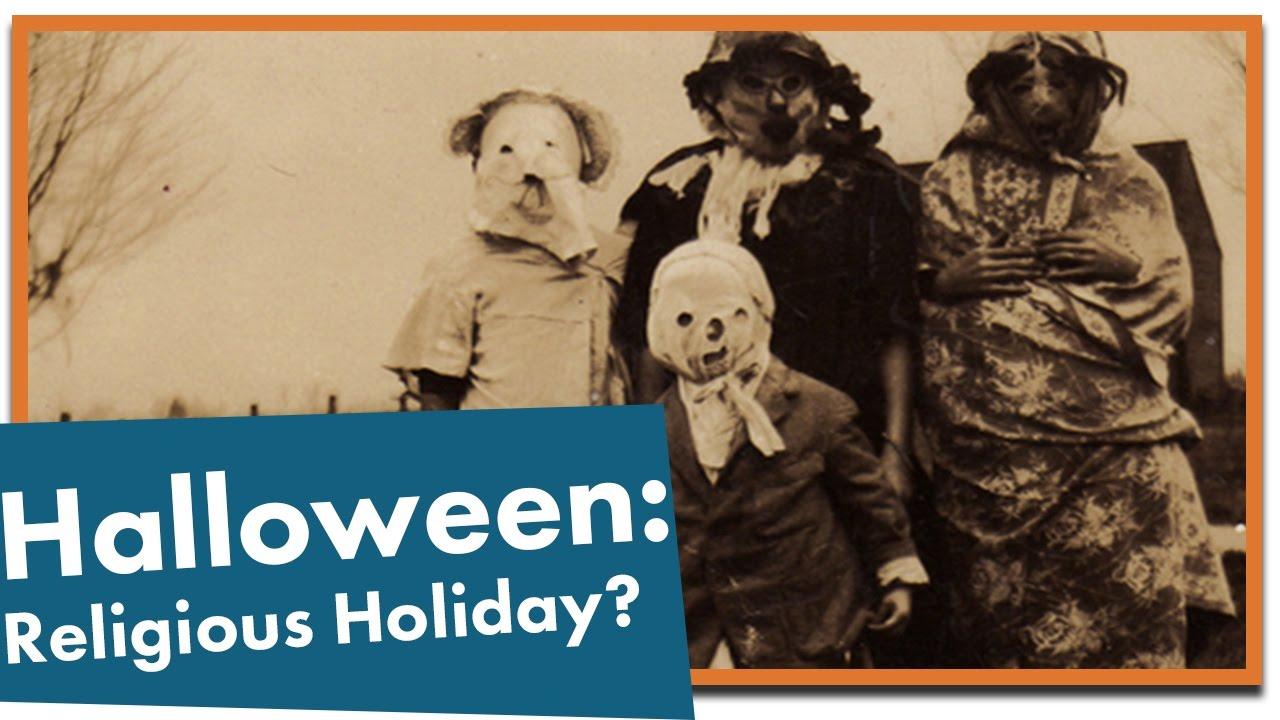 history of halloween pagan or christian