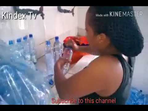 Bottle water Factory that package Tap water exposed.