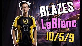 Leblanc của Blazes đụng độ SGD Sena và Sunsieu [GAM Esports Highlight]