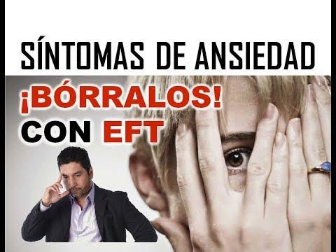 SINTOMAS DE ANSIEDAD... ¡BÓRRALOS! CON EFT
