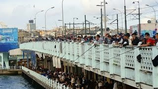 Stambuł - Istanbul - Złoty Róg - Golden Horn - Altın Boynuz - Most Galata - Turcja - Turkey