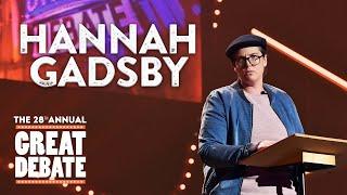 Hannah Gadsby - 2017 Annual Great Debate