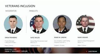 Panel of Peers: Veterans Inclusion