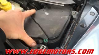 VW touareg Audi Q7 fuel pressure and fuel pump flow test DIY by Edge Motors