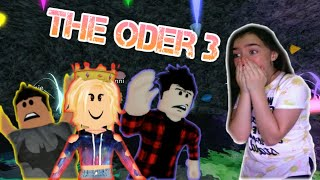 THE ODER APOCALYPSE! The Oder 3! (Roblox horror movie!) Reaction!