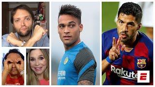 Si el Barcelona no le paga a Luis Suárez, Lautaro Martínez no podría jugar con Messi | Exclusivos