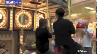 Kris Jenner Eats Corn Dogs And Rides A Kangaroo A Carousel