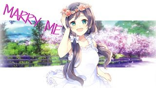 nightcore marry me female cover lyrics