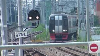 名鉄2200系(2203F)(一部特別車)快速特急 豊橋行き