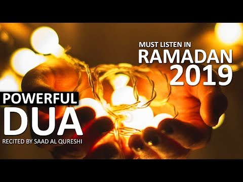 Beautiful DUA FOR HELP OF ALLAH IN RAMADAN RAMAZAN 2019 ♥
