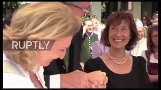 Тост Владимира Путина на свадьбе главы МИД Австрии № 2