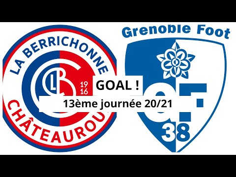 Chateauroux Grenoble Goals And Highlights