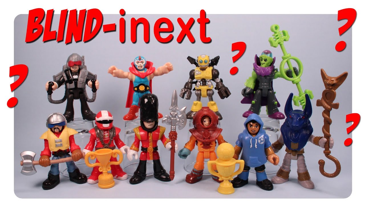 Imaginext Blind Bag Figures Series 1 Opening And Codes