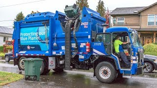 "Peterbilt 520 - McNeilus ZR ""Mini"" Garbage Truck"