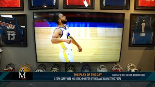 Play of the Day: Steph Curry Hits His 10th 3-Pointer Of The Game Against The 76ers | 04/20/21