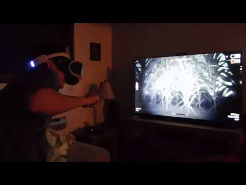 outlast 2 reaction on ps4 vr part 2