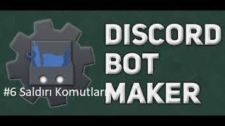 Basit Sesli Mesaj Spam Komutu | Discord Bot Maker Basit Saldırı Komutları #6