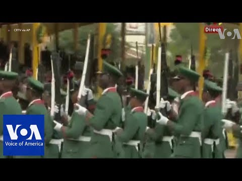 Military parade as Cameroon marks national day amid threats of violence