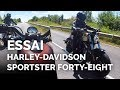 Essai Comparo Harley-Davidson Sportster Forty Eight A2