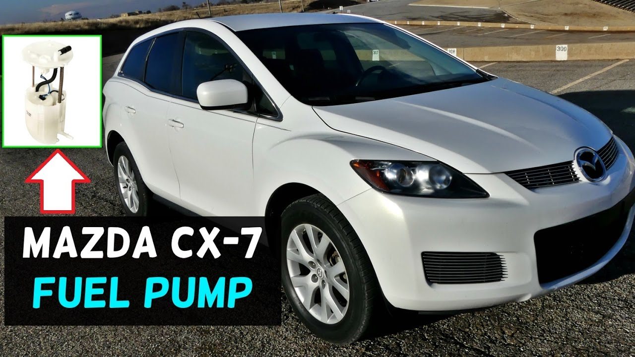 hight resolution of mazda cx 7 cx7 fuel pump location replacement
