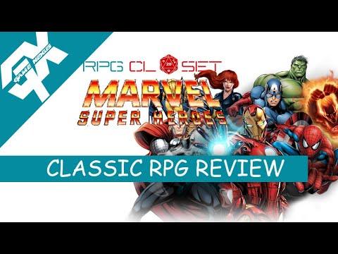 The RPG Closet: Marvel Super Heroes RPG