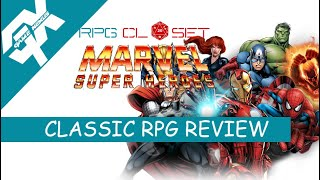 The RPG Closet: Marvel Super Heroes RPG