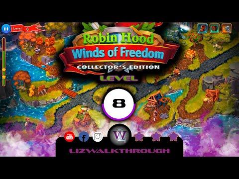 Robin Hood - Level 8 CE Walkthrough - Winds of Freedom |