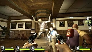 Left 4 Dead 2 - Resident Evil Outbreak : File 1 Campaign Multiplayer Gameplay Walkthrough