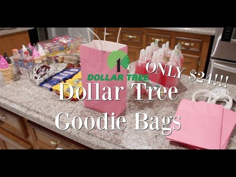 DOLLAR TREE GOODIE BAGS  CHEAP  For Any Occasion!