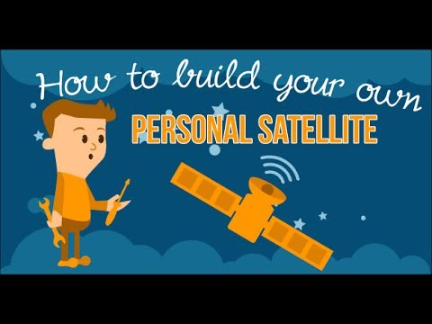 How to build your own personal satellite - YouTube