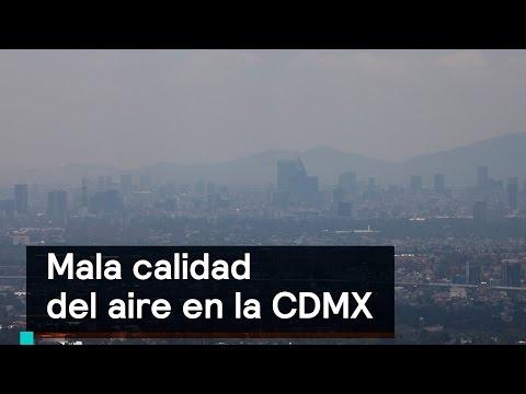 Contaminación del aire reduce la esperanza de vida - Al Aire con Paola