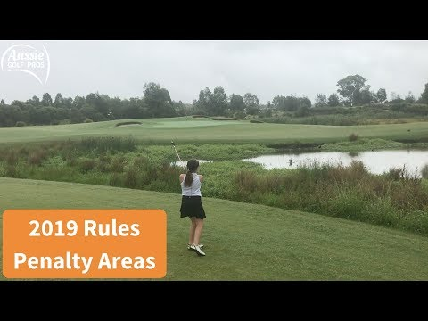 2019 New Golf Rules Penalty Areas