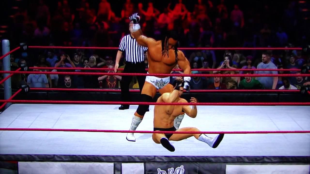 WWE'12 TLC Sim: Cody Rhodes v Booker T IC Title YouTube