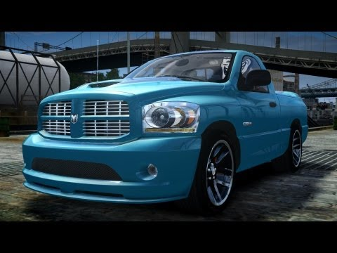 GTA IV 2006 Dodge Ram SRT-10 [EPM] Crash Testing