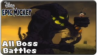 Epic Mickey All Bosses