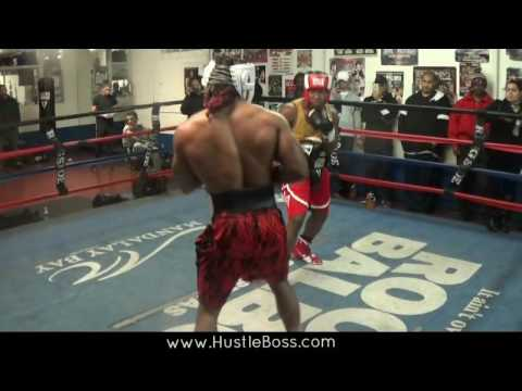 Jeremy Nichols Vs. Za-Quan Peterkin First Friday Sparring ['Flash' In Rare Form]