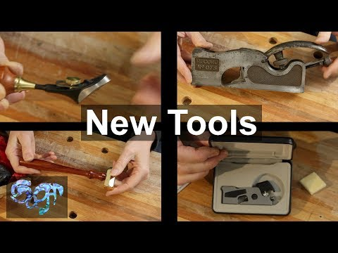 A look at some of my new tools