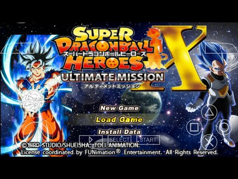 How To Download New Super Dragon Ball Heroes Ultimate Mission X