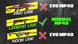 Which Mp40 Skin is Best? Evo Mp40, Poker Mp40 and Normal Mp40 Must Watch - Garena Free Fire