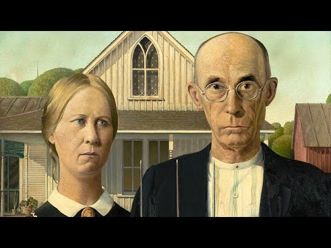 Grant Wood / American Gothic