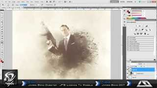 Speed Art: James Bond 007
