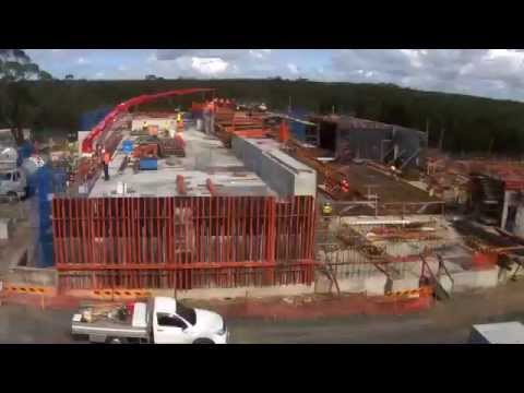 ANSTO Nuclear Medicine Project timelapse September